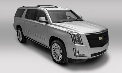 T-REX Grilles - 2015-2020 Escalade Upper Class Grille, Black, 1 Pc, Replacement, Fits Vehicles with Camera - PN #51189 - Image 2