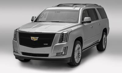 T-REX Grilles - 2015-2020 Escalade Upper Class Grille, Black, 1 Pc, Replacement, Fits Vehicles with Camera - PN #51189 - Image 3