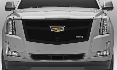 T-REX Grilles - 2015-2020 Escalade Upper Class Grille, Black, 1 Pc, Replacement, Fits Vehicles with Camera - PN #51189 - Image 4
