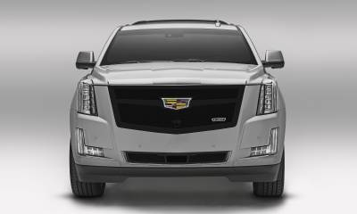 T-REX Grilles - 2015-2020 Escalade Upper Class Grille, Black, 1 Pc, Replacement, Fits Vehicles with Camera - PN #51189 - Image 5