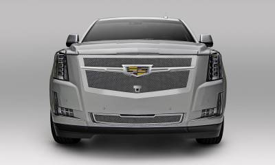T-REX Grilles - 2015-2020 Escalade Upper Class Grille, Chrome with Chrome Center Trim Piece, 1 Pc, Replacement, Fits Vehicles with Camera - PN #56191 - Image 3