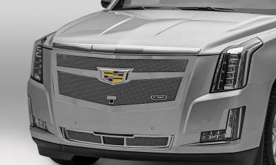 T-REX Grilles - 2015-2020 Escalade Upper Class Grille, Chrome, 1 Pc, Replacement, Fits Vehicles with Camera - PN #56181