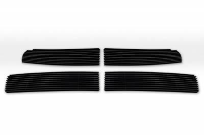T-REX Grilles - Dodge Ram PU 1500 Billet Grille Overlay - Black - 4 Pc - Pt # 21456B - Image 5