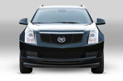 T-REX Grilles - 2010-2016 Cadillac SRX Upper Class Grille, Black, 1 Pc, Replacement, 3 Window Design, with OE Logo Plate - PN #51187 - Image 2