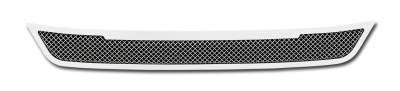 2013-2015 Ford Fusion Upper Class Series Bumper Grille, Polished, Stainless Steel, 1 Pc, Replacement - PN# 55531 - Image 2