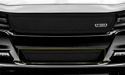 T-REX Grilles - 2015-2021 Charger Upper Class Series Bumper Grille, Black, 1 Pc, Overlay - PN #52480 - Image 1
