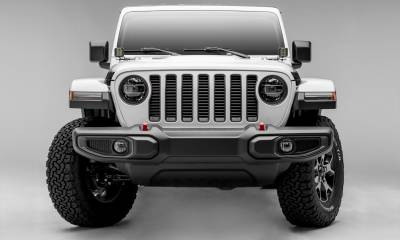 T-REX Grilles - Jeep Gladiator, JL Round Billet Grille, Silver, 1 Pc, Insert, Does Not Fit Vehicles with Camera - PN #6204946 - Image 4