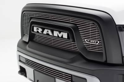 T-REX Grilles - 2015-2018 Ram 1500 Rebel Laser Billet Grille, Polished, 2 Pc, Overlay - PN #6214640 - Image 1