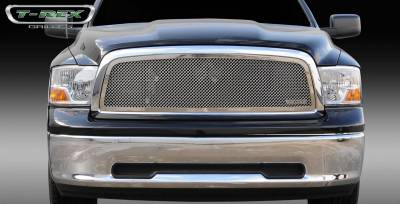 T-REX Grilles - 2009-2012 Ram 1500 Upper Class Grille, Polished, 1 Pc, Insert - PN #54457 - Image 2