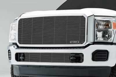 T-REX Grilles - 2011-2016 Super Duty Billet Grille, Polished, 1 Pc, Insert - PN #20546 - Image 1