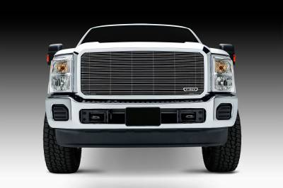 T-REX Grilles - 2011-2016 Super Duty Billet Grille, Polished, 1 Pc, Insert - PN #20546 - Image 2