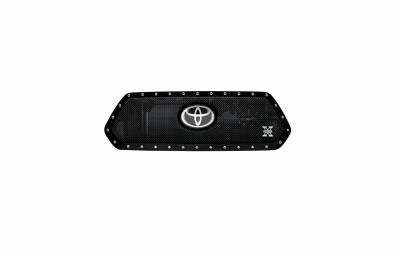 T-REX Grilles - 2018-2021 Tacoma X-Metal Grille, Black, 1 Pc, Insert, Chrome Studs, Does Not Fit Vehicles with Camera - PN #6719511 - Image 4