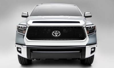 T-REX Grilles - 2018-2021 Tundra Stealth X-Metal Grille, Black, 1 Pc, Replacement, Black Studs - PN #6719661-BR - Image 3