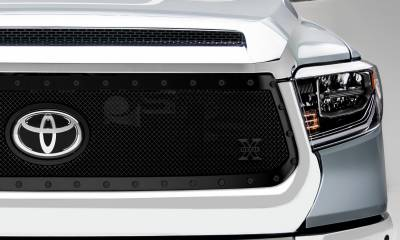 T-REX Grilles - 2018-2021 Tundra Stealth X-Metal Grille, Black, 1 Pc, Replacement, Black Studs - PN #6719661-BR - Image 2