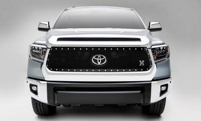 T-REX Grilles - 2018-2021 Tundra X-Metal Grille, Black, 1 Pc, Replacement, Chrome Studs, Does Not Fit Vehicles with Camera - PN #6719661 - Image 4