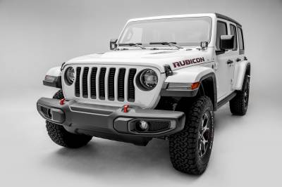T-REX Grilles - Jeep Gladiator, JL Billet Grille, Black, 1 Pc, Insert, without Forward Facing Camera - PN #6204931 - Image 3