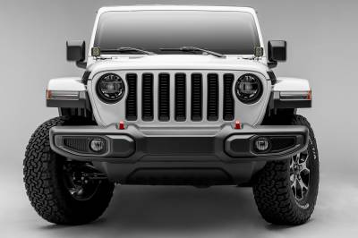 T-REX Grilles - Jeep Gladiator, JL Billet Grille, Black, 1 Pc, Insert, without Forward Facing Camera - PN #6204931 - Image 4