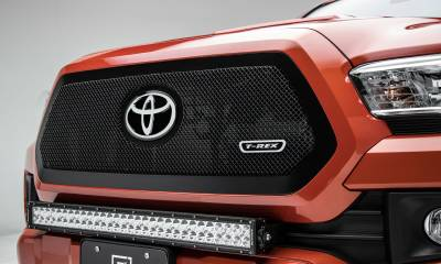 T-REX Grilles - 2018-2019 Tacoma Upper Class Grille, Black, 1 Pc, Insert - PN #51951 - Image 1