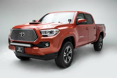 T-REX Grilles - 2018-2021 Tacoma Billet Grille, Polished, 1 Pc, Insert, Does Not Fit Vehicles with Camera - PN #20950 - Image 2