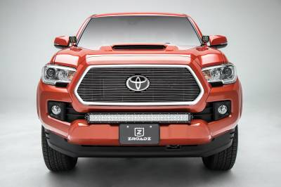 T-REX Grilles - 2018-2021 Tacoma Billet Grille, Polished, 1 Pc, Insert, Does Not Fit Vehicles with Camera - PN #20950 - Image 3