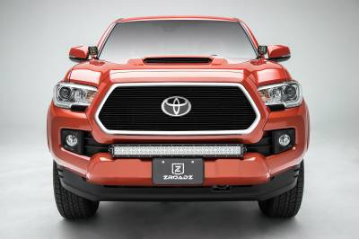 T-REX Grilles - 2018-2021 Tacoma Billet Grille, Black, 1 Pc, Insert, Does Not Fit Vehicles with Camera - PN #20950B - Image 3
