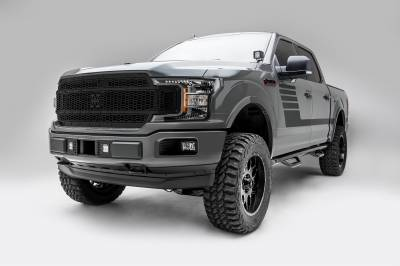 T-REX Grilles - 2018-2020 F-150 Stealth Laser X Grille, Black, 1 Pc, Replacement, Black Studs, Does Not Fit Vehicles with Camera - PN #7715841-BR - Image 5