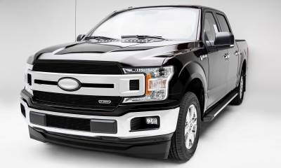T-REX Grilles - 2018-2020 F-150 XLT, Lariat Billet Grille, Black, 2 Pc, Insert, Does Not Fit Vehicles with Camera - PN #20571B - Image 7