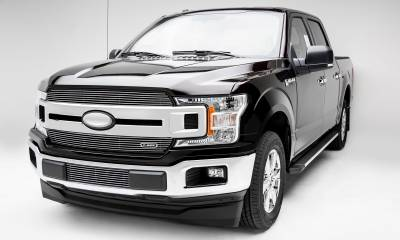 T-REX Grilles - 2018-2020 F-150 XLT, Lariat Billet Grille, Polished, 2 Pc, Insert, Does Not Fit Vehicles with Camera - PN #20571 - Image 7