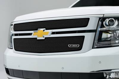 T-REX Grilles - 2015-2020 Suburban and Tahoe LT, LTZ Sport Grille, Black, 2 Pc, Overlay - PN #46055 - Image 2