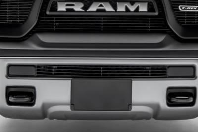 T-REX Grilles - 2015-2018 Ram 1500 Rebel Billet Bumper Grille, Black, 1 Pc, Insert - PN #254641B - Image 1