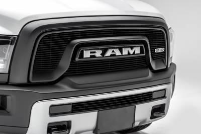 T-REX Grilles - 2015-2018 Ram 1500 Rebel Billet Bumper Grille, Black, 1 Pc, Insert - PN #254641B - Image 5