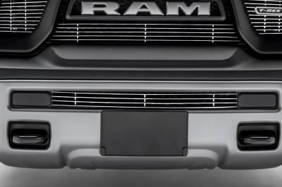 T-REX Grilles - 2015-2018 Ram 1500 Rebel Billet Bumper Grille, Polished, 1 Pc, Insert - PN #254641 - Image 1