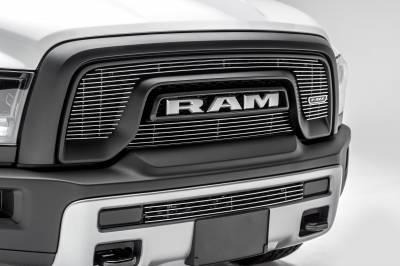 T-REX Grilles - 2015-2018 Ram 1500 Rebel Billet Bumper Grille, Polished, 1 Pc, Insert - PN #254641 - Image 5