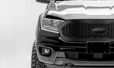 T-REX Grilles - 2019-2020 Ford Ranger Laser X Grille, No Studs, 1 Pc, Replacement - PN #6315831 - Image 2