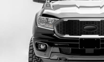 T-REX Grilles - 2019-2021 Ford Ranger Laser X Grille, No Studs, 1 Pc, Replacement with Trim, must reuse factory logo - PN #6315823 - Image 2