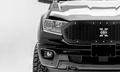 T-REX Grilles - 2019-2021 Ford Ranger Laser X Grille, Chrome Studs, 1 Pc, Replacement - PN #6315821 - Image 2