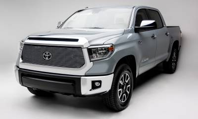 T-REX Grilles - 2018-2021 Tundra Billet Grille, Polished, 1 Pc, Replacement, Does Not Fit Vehicles with Camera - PN #20966 - Image 2