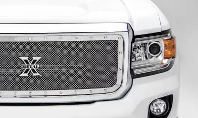 T-REX Grilles - 2015-2020 GMC Canyon X-Metal Grille, Polished, 1 Pc, Insert, Chrome Studs - PN #6713710 - Image 5
