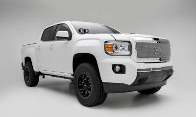 T-REX Grilles - 2015-2020 GMC Canyon X-Metal Grille, Polished, 1 Pc, Insert, Chrome Studs - PN #6713710 - Image 7