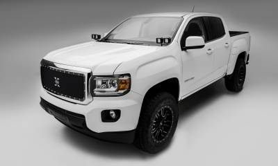 T-REX Grilles - 2015-2020 GMC Canyon X-Metal Grille, Black, 1 Pc, Insert, Chrome Studs - PN #6713711 - Image 3