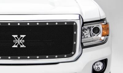 T-REX Grilles - 2015-2020 GMC Canyon X-Metal Grille, Black, 1 Pc, Insert, Chrome Studs - PN #6713711 - Image 6