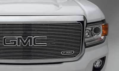 T-REX Grilles - 2015-2020 GMC Canyon Billet Grille, Polished, 1 Pc, Insert - PN #20371 - Image 5
