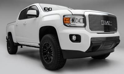 T-REX Grilles - 2015-2020 GMC Canyon Billet Grille, Polished, 1 Pc, Insert - PN #20371 - Image 2