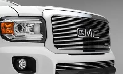 T-REX Grilles - 2015-2020 GMC Canyon Billet Grille, Polished, 1 Pc, Insert - PN #20371 - Image 4