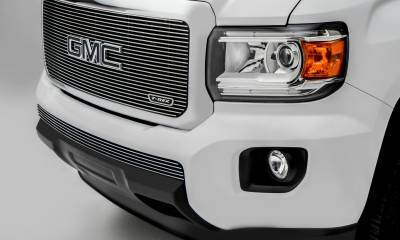 T-REX Grilles - 2015-2020 GMC Canyon Billet Bumper Grille, Polished, 1 Pc, Insert - PN #25371 - Image 3