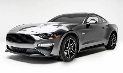T-REX Grilles - 2018-2021 Mustang GT Billet Grille, Black, 1 Pc, Overlay - PN #6215501 - Image 3