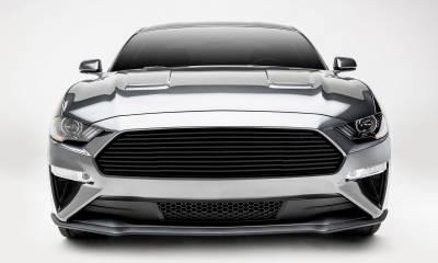 T-REX Grilles - 2018-2021 Mustang GT Billet Grille, Black, 1 Pc, Overlay - PN #6215501 - Image 4