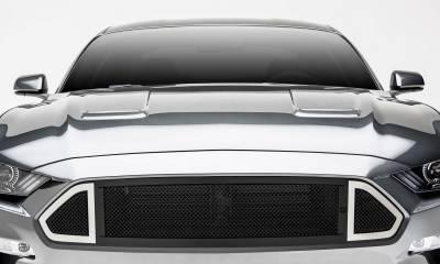 T-REX Grilles - 2018-2020 Mustang GT DJ Grille, Black, 1 Pc, Insert - PN #DJ10550 - Image 1