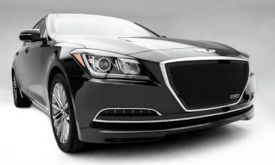 T-REX Grilles - 2015 Hyundai Genesis Sedan Upper Class Series Main Grille, Black, 1 Pc, Overlay/Insert - PN #51499 - Image 5