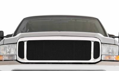 T-REX Grilles - 1999-2004 Super Duty Upper Class Series Main Grille, Black, 1 Pc, Insert - PN #51571 - Image 2